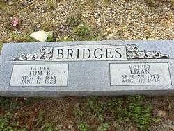 Elizabeth Ann Lizan <i>Harris</i> Bridges