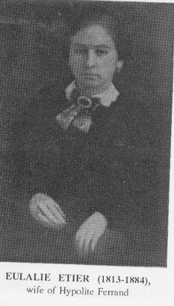 Eulalie <i>Etier</i> Ferrand