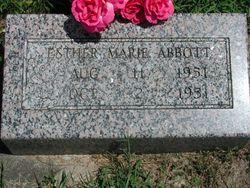 Esther Marie Abbott