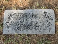 Agnes <i>Hill</i> Anderson