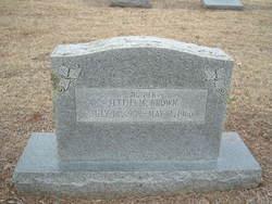 Jettie M. <i>Zachary</i> Brown