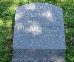 Julia A <i>Lutz</i> Peach