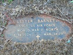 Sgt Lester Barnett