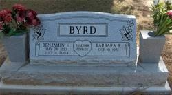 Benjamin H Byrd, Jr