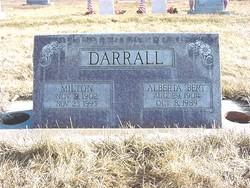 Alberta Bert Darrall