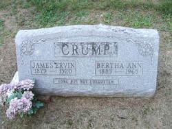 Bertha Ann <i>Downs</i> Crump