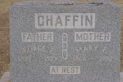 Mary F Chaffin