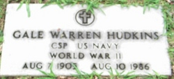 Gale <i>Warren</i> Hudkins