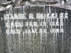 Jennie R Ruggles
