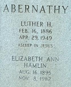Luther H. Abernathy