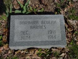 Barbara Beulah Barnes
