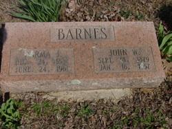 Narma J <i>Browning</i> Barnes