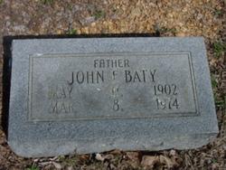John Fred Baty