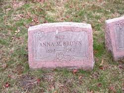Anna M Brown