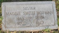 Maggie <i>Smith</i> Norman