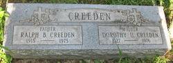 Dorothy U. Creeden