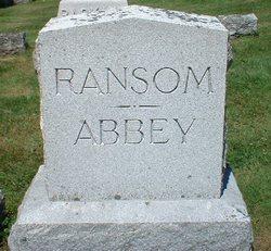 Jessie <i>Ransom</i> Abbey