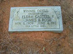 Winnie Odell Rose