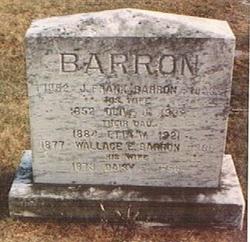 Olive <i>Jackson</i> Barron