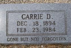 Carrie D. Fauscett