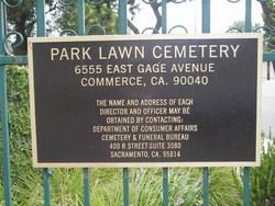 Park Lawn Memorial Park
