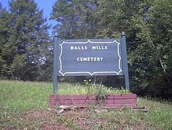Balls Mills Cemetery