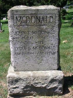 Lydia P <i>Burgess</i> McDonald