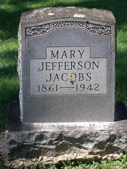 Mary <i>Jefferson</i> Jacobs