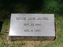 Bessie Jane Jacobs