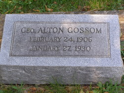 Geo Alton Gossom