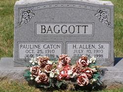 Pauline V. <i>Caton</i> Baggott