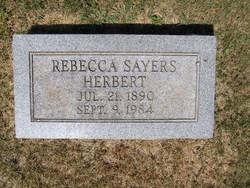 Rebecca Hazel <i>Sayers</i> Herbert