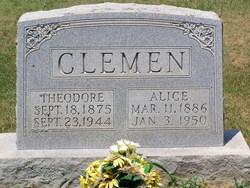 Alice E. <i>Wray</i> Clemen