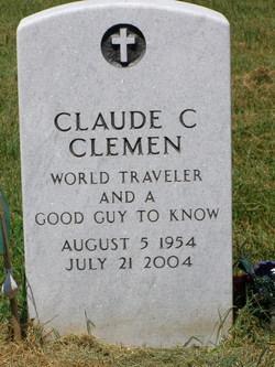 Claude C Clemen