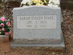 Sarah Evelyn Evans
