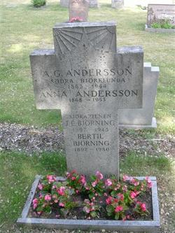 A G Andersson