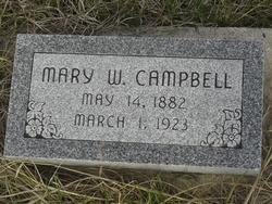 Mary <i>Wabasha</i> Campbell