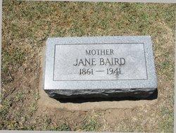 Jane Artimis <i>Wallis</i> Baird