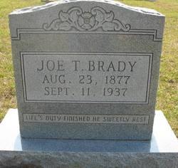 Joe T Brady