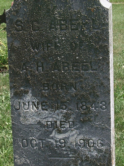 Susan Cornelia <i>Niles</i> Abeel