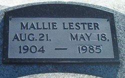 Mallie <i>Aldred</i> Lester