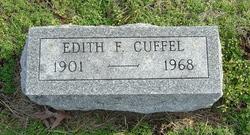 Edith <i>Freund</i> Cuffel