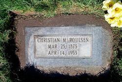 Christian M Poulsen