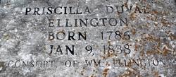 Priscilla <i>Duvall</i> Ellington