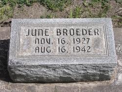 June Broeder