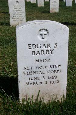 Edgar S Barry