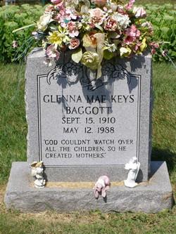 Glenna Mae <i>Keys</i> Baggott