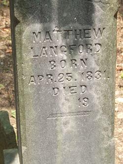Matthew Langford