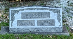 Mary Esther <i>Cloninger</i> Burrell