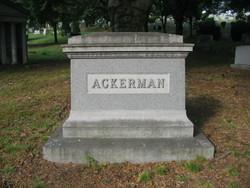 Margaret E. <i>Banta</i> Ackerman
